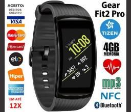 Smartband Samsung Gear Fit 2 Pro 4GB Tizen, GPS, Bluetooth, Novíss, Nota, Garantia