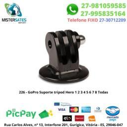 226 - Promoção - GoPro Suporte tripod Hero 1 2 3 4 5 6 7 8 Todas