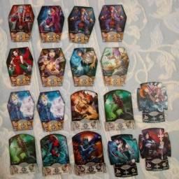 Coleção Vampiros Cards da Elma Chips.