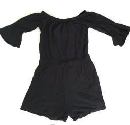 macaquito preto feminino