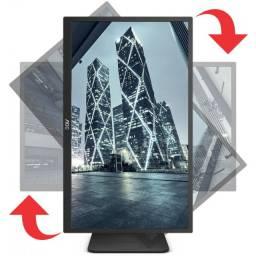 Monitor aoc 18.5´ Widescreen, , 2ms, Altura Ajustável