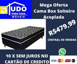 Mega Promoção Cama Box Solteiro Acoplada