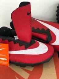 Título do anúncio: Chuteira Socaite Nike costurada vulcanizada