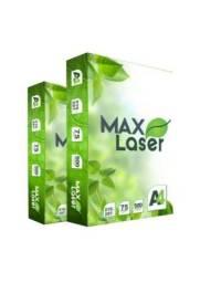 Título do anúncio: Papel A4 75g Maxlaser - caixa com 10 resmas