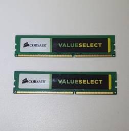 KIT Memora RAM corsair DDR3 8GB 1600Mhz