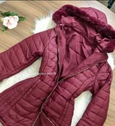 Vendo jaqueta parka nova