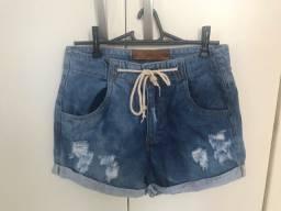 Short jeans novo, tamanho 42/44, 20 reais