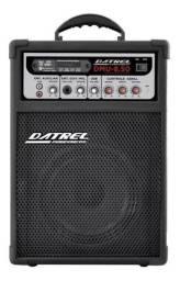 Alto-falante Datrel DMU-8.50 com bluetooth e controle remoto