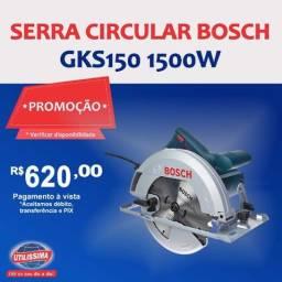 Serra Circular Bosch GKS150 1500W ? Entrega grátis