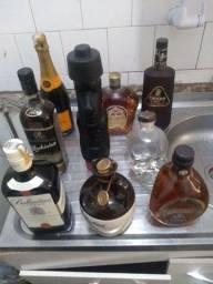 Bebidas diversas consumo e colecionador