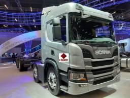 Scania P320 8x2 Aut Cabine leito Super Luxo + Retarde (Chassis) 2021