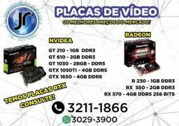 Placas de Vídeo com os melhores Preços a partir de 299,00