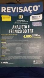 Título do anúncio: Revisaço- Analista e técnico do TRT - 2 volumes  Juspodvim