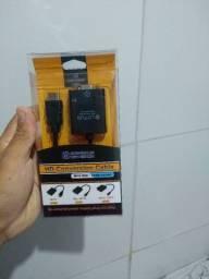 Cabo conversor VGA para HDMI