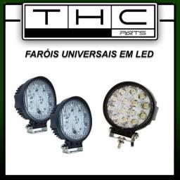 Farol LED universal (vários tamanhos)