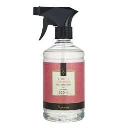 Agua perfumada para tecidos flor de cerejeira ant mof/bact Via aroma 500ml