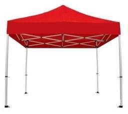 Tenda Sanfonada 3x3 - Resistente a exposições em área externa