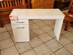 Título do anúncio: Escrivaninha 1 porta Vitória com 1,20m de largura, branca e nogal, Demóbile