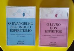 O Livro dos Espíritos + O Evangelho Segundo o Espiritismo