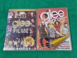 kit dois dvds de Glee 3d e  videos