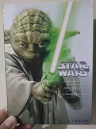 Dvd Star Wars box 1,2,3,4,5 e 6 + Star Wars O Despertar Da Força