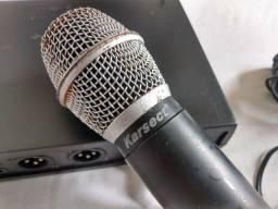Microfone sem fio falar no zap *