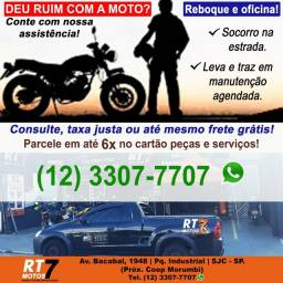 RESGATE E CONSERTO MOTOCICLETA