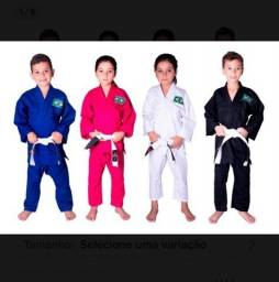 Kimono Infantil Judô Jiu Jitsu Karate novos