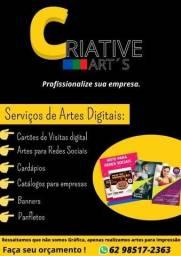 Título do anúncio: Criação de Catálogos e Cardápios digitais para empresa