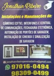 Instalação de segurança eletrônicas