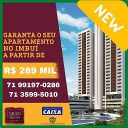 Gran Reserva - Apartamento 2/4 com suíte e varanda - Lançamento