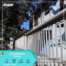 Alugo excelente casa com 04 quartos nos Cavaleiros em Macaé-Rj