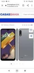 Vendo celular LG k22 novo