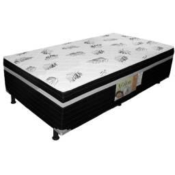 Cama Box Solteiro C/ 5 cm de Espuma Selada (Promoção)
