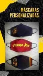 Máscara de proteção Personalizada - Infantil e Adulto  - 3 camadas