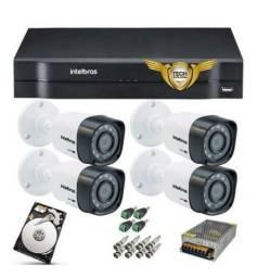 Título do anúncio: Câmeras de segurança tech