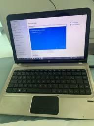 Notebook Hp DM4-2035br core i3 4gb ram 500gb memória!