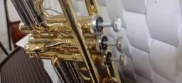 Trompete Eagle TR 504. Semi-novo.
