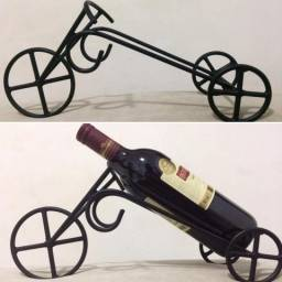 Bicicleta porta vinho