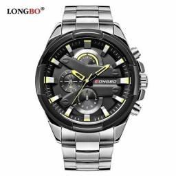 Relógio masculino importado original Longbo