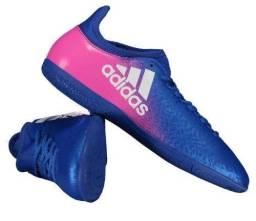 Chuteira Adidas X 16.3 IN futsal tamanho 43/44