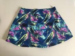 Short-saia estampado (Academia)