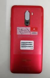 Celular xiaomi pocophone f1 128gb vermelho