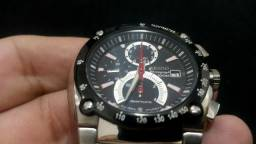 c0c0d3be2cf Relógio Seiko Sportura Cronógrafo Retrograde Spc001 Preto