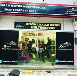 Oficina conserto e manutenção moto leilão kallu motos niteroi