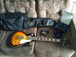 Kit Guitarra Strinberg Les Paul