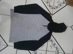 Camisa de Frio com Capuz Tamanho ( M )
