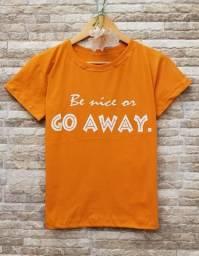 T-Shirt / Camiseta - 100% algodão/ M / Entrego