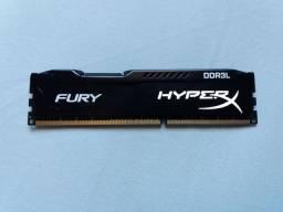 Memória ram hyperx Fury DDR3L 8GB