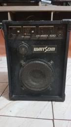 Caixa amplificada Wattsom Hobby 100